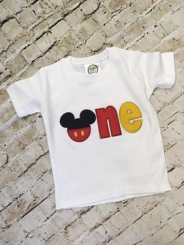 One Applique Shirt