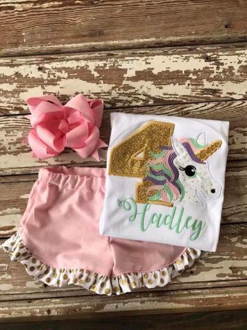 Unicorn Birthday  Set