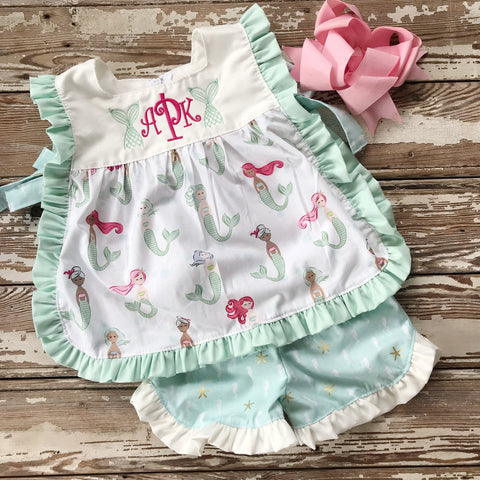 Ari Pinafore Set