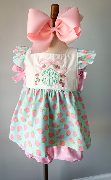 Ashton Dress and Pinafore Set