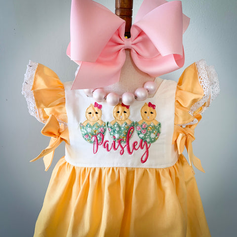 Agnes Dress and Pinafore Set