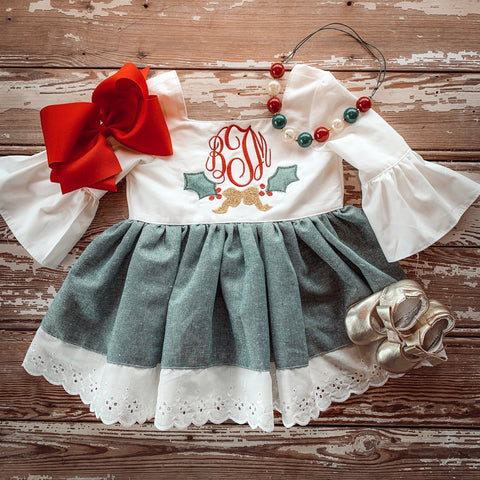 Holly Pinafore Set and Dress
