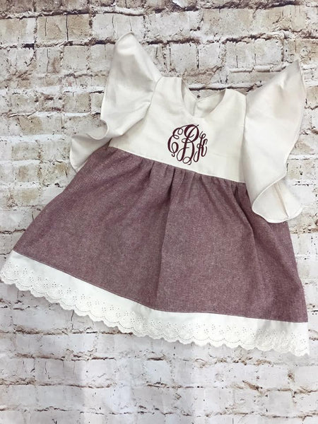Plum Grace Dress