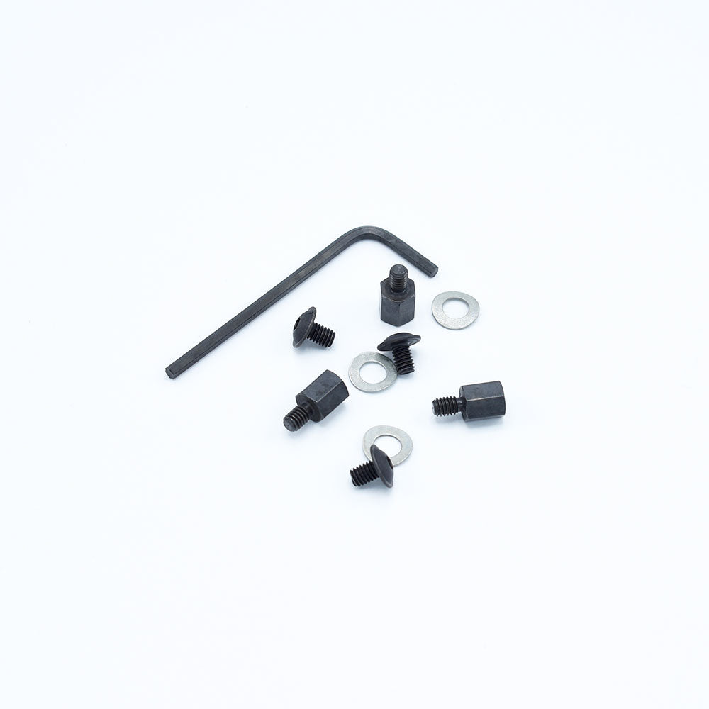 3Hex - Hex stand-offs, set of 3 pcs. including screws M4 x 8mm