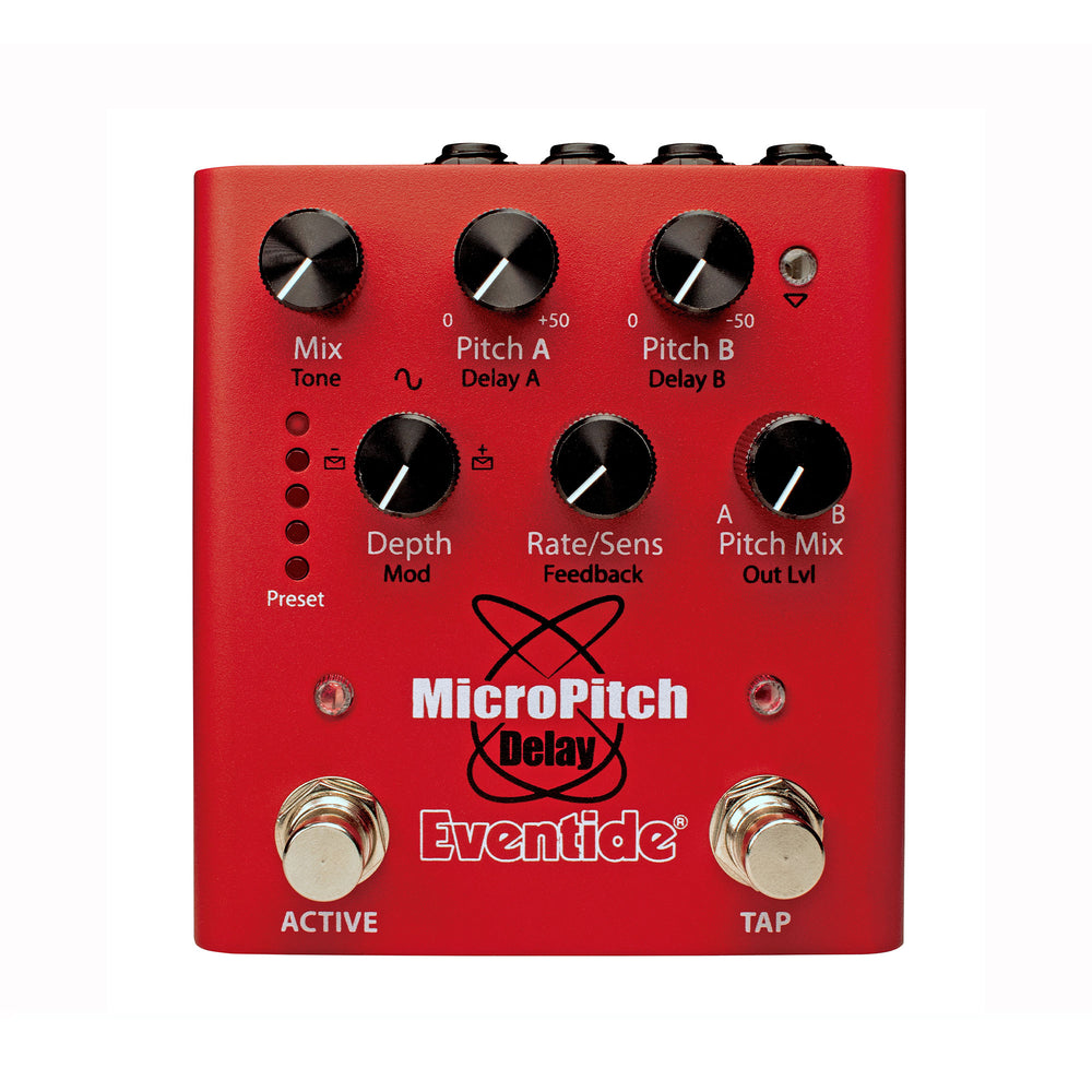 MicroPitch Delay