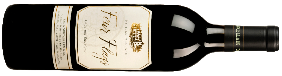 2014 DeLille Cellars |Four Flags | Cabernet Sauvignon | Red Mountain, WA