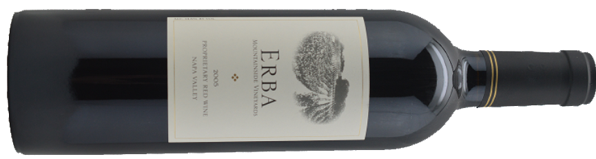 2005 Erba Mountainside Vineyard | Proprietary Red | Napa Valley-SOLD OUT!
