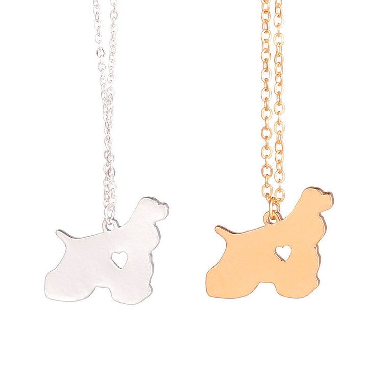 Cocker Spaniel Dog Necklace
