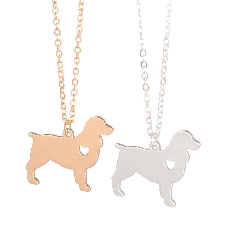 English Springer Spaniel Dog Necklace