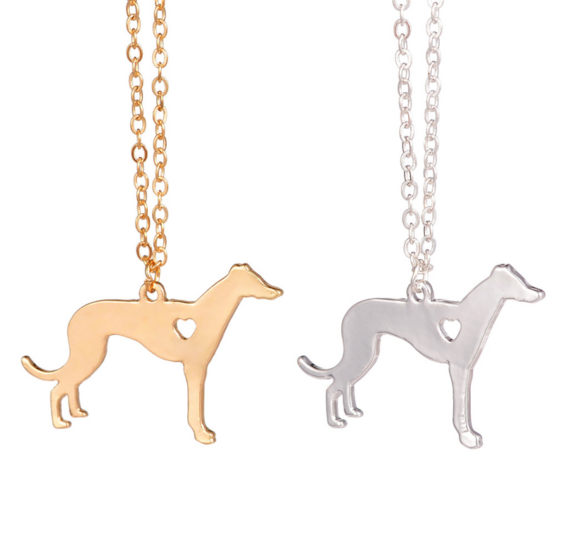 Greyhound Dog Necklace