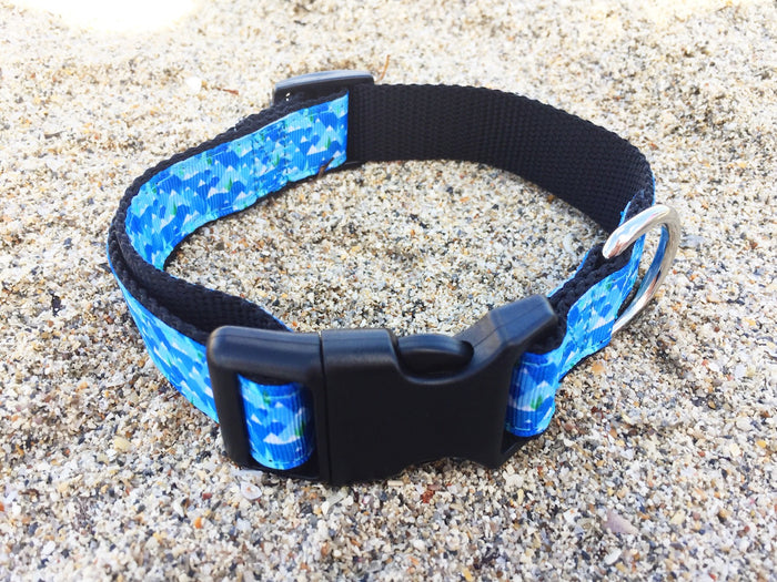 Collars4Change Blue Mountains Dog Collar