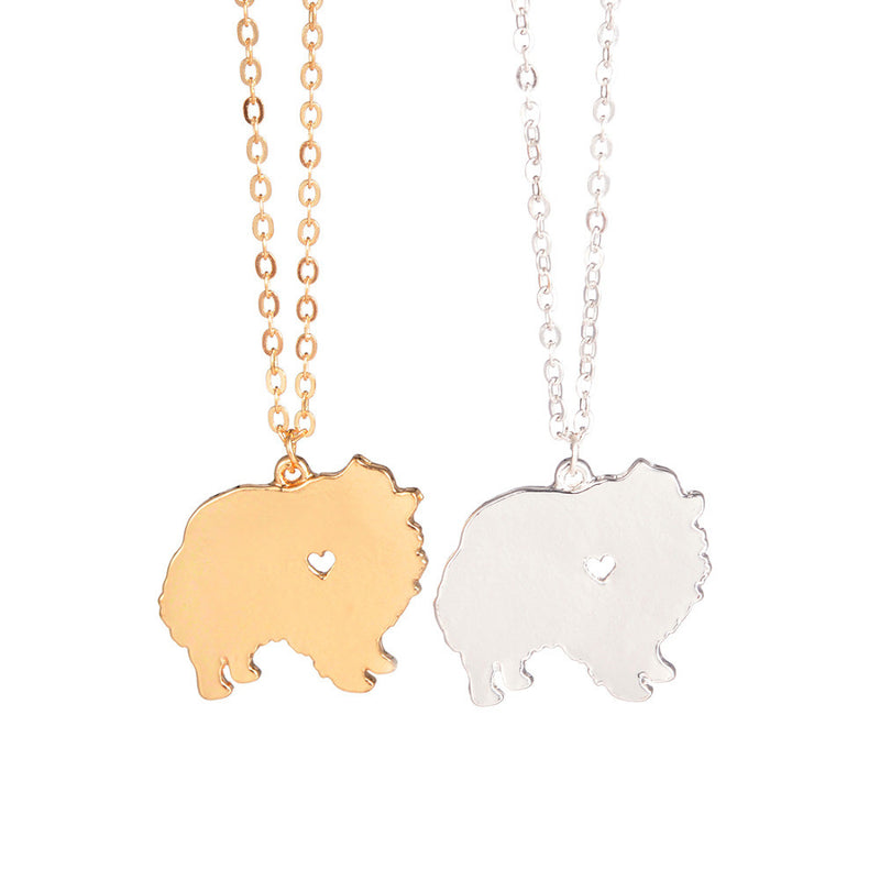 Pomeranian Dog Necklace