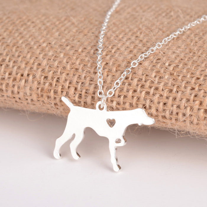 German Short Hair Pointer Dog Necklace