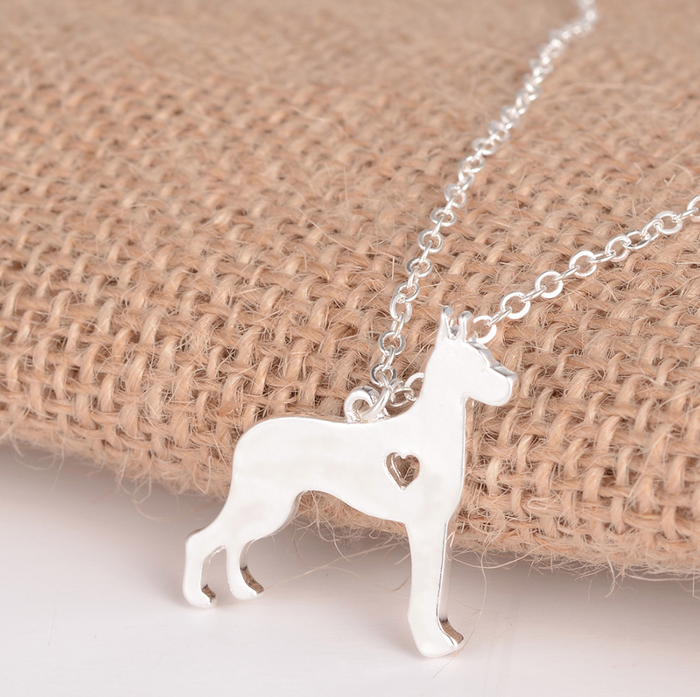Great Dane Dog Necklace
