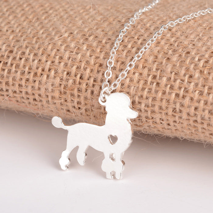 Poodle Dog Necklace