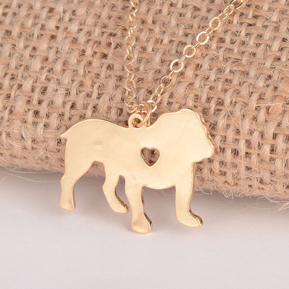 Bulldog Necklace