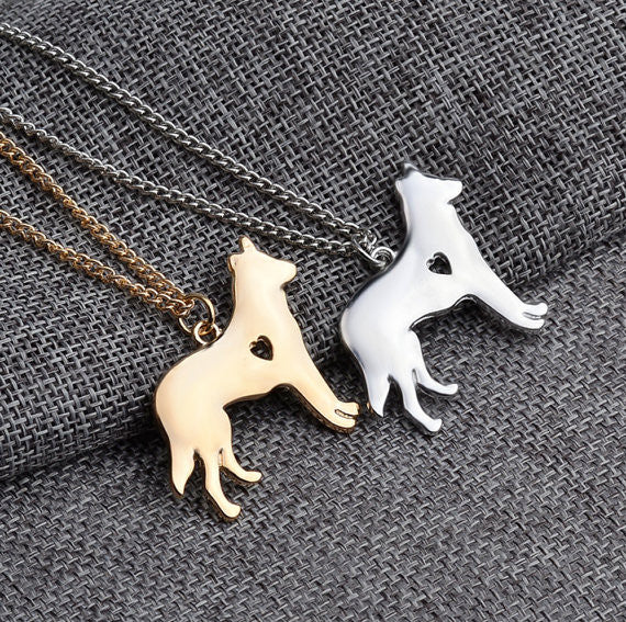 German Shepherd Dog Necklace