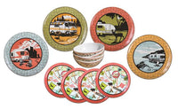 Retro Camping Dishes Kit