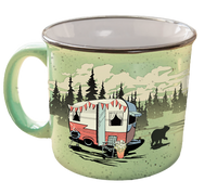 Camp Casual Mug - Beary Green