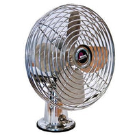 Chrome Fan 12v
