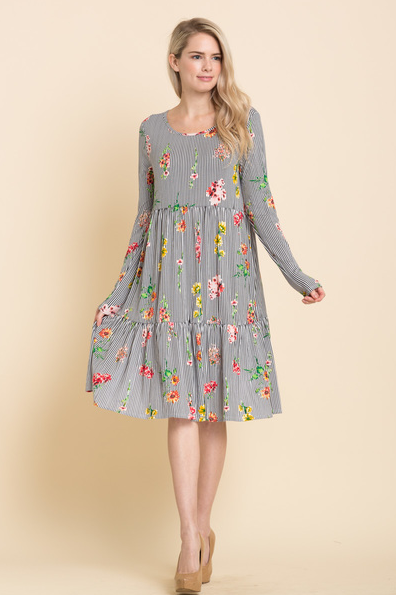 Wild Meadows Midi Dress