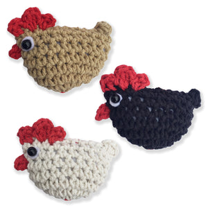 I Love Chickens Solid Color 3-Pack