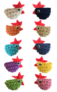 I Love Chicken Magnets 10-Pack