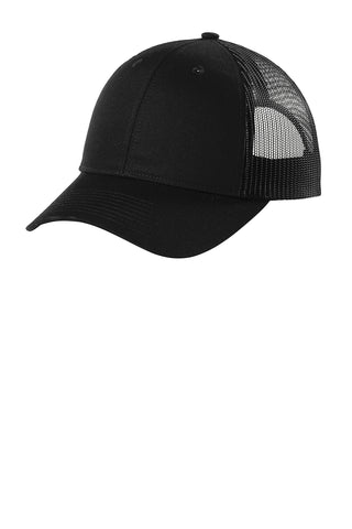Port Authority ® Low-Profile Snapback Trucker Cap Brand Logo