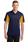Sport-Tek® Men's Side Blocked Micropique Sport-Wick® Polo