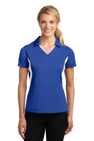 Sport-Tek® Ladies Side Blocked Micropique Sport-Wick® Polo 2XL-4XL with USPC South Region Logo