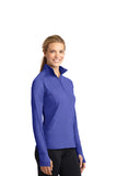 Sport-Tek® Ladies Sport-Wick® Stretch 1/2-Zip Pullover - Sizes 2XL-4XL - 17 colors