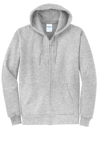 Port & Company® Core Fleece Full-Zip Hooded Sweatshirt - Unisex (2XL-4XL)