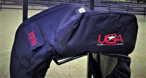 Water proof and lined saddle cover