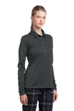 Nike Ladies Long Sleeve Dri-FIT Stretch Tech Polo