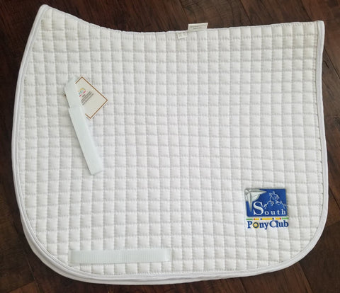 PRI Dressage Saddle Pad with USPC South Region Logo