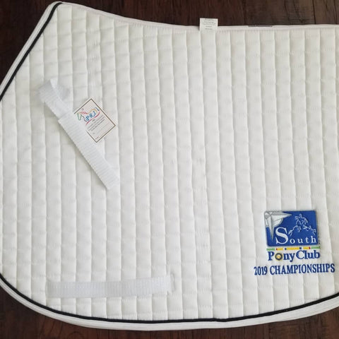 PRI A/P Saddle Pad with USPC South Region Logo