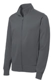 Sport-Tek® Men's Sport-Wick® Fleece Full-Zip Jacket