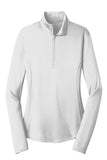 Sport-Tek® Ladies PosiCharge® Competitor™ 1/4-Zip Summer Moisture Wicking