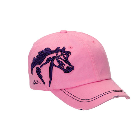 Assorted Embroidered-Distressed Ball cap