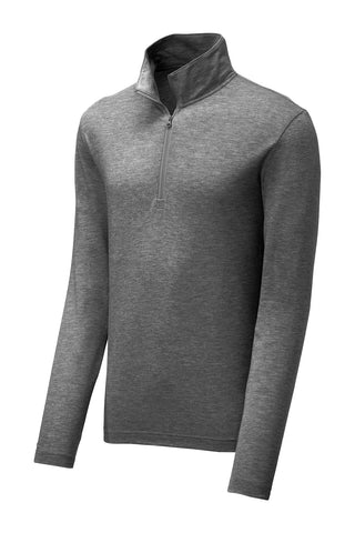 Sport-Tek  Men's PosiCharge  Tri-Blend Wicking 1/4-Zip Pullover