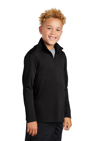 Sport-Tek ® Youth PosiCharge ® Competitor ™ 1/4-Zip Summer Moisture Wicking