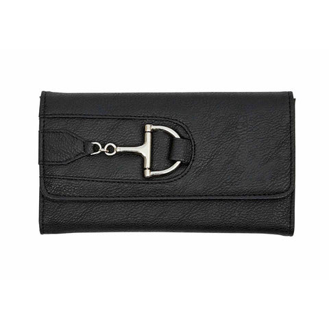 Equestrian Wallet with Dee Snaffle Bit