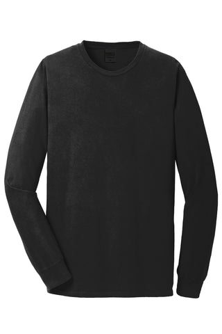 Adult Port & Company® Beach Wash™ Garment-Dyed Long Sleeve Tee