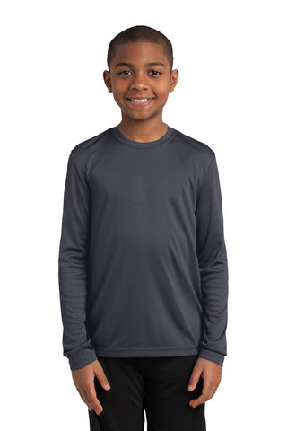 Youth Moisture Wicking Sport-Tek® Long Sleeve Competitor™ Tee
