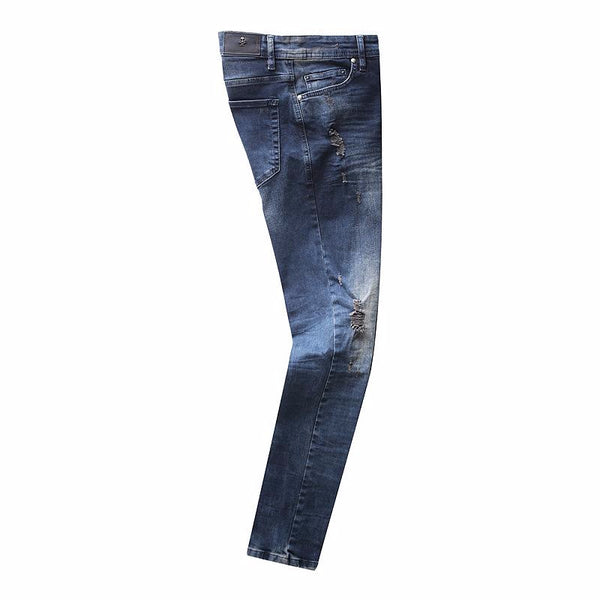 Distressed - regular slim fit