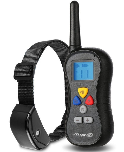 Happy Hound HRT-330 Yard Ranger 330 Dog Training Collar with Remote
