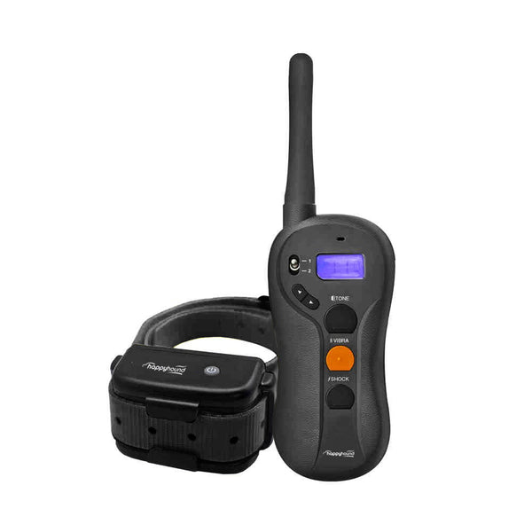 VERY HAPPY HOUND, Dog Training Collar with Remote, RANGEMAX 650, Waterproof, Rechargeable, 650-yard range, (HHRT-650)