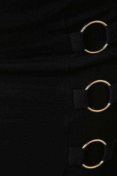 O-Rings Pencil Skirt