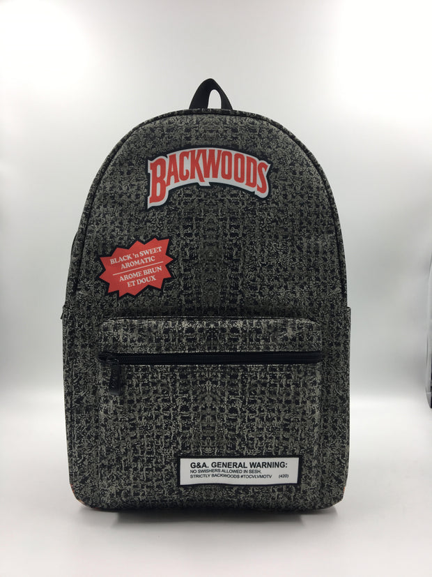 Backwoods Backpack - Black and Sweet Aromatic
