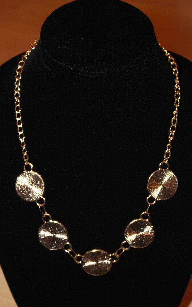 Women's Necklace with Circles